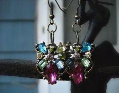 Vintage Hollycraft Earrings from 1953 with one by ALCustomJewelry, $25.00