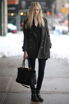 All the Best Street Style Straight from New York Fashion Week #fbloggers #bbloggers #lbloggers