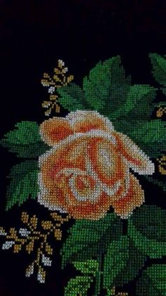 Geri Dönüşüm Projeleri Needlework, Projects To Try, Embroidery, Painting, Cross Stitch Embroidery, Tricot, Towels, Roses, Spring