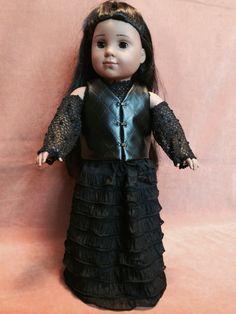 Bellatrix Lestrange Post-Azkaban Goth Look by DressMeMagic on Etsy