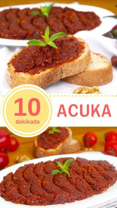 Acuka (with video) - Yummy Recipes, Yummy Recipes, Crockpot Recipes, Keto Recipes, Dessert Recipes, Yummy Food, Desserts, Appetizer Salads, Turkish Recipes, Food Pictures
