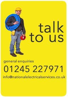 If you need trusted local electricians in Essex, Kent or London call us at National Electrical Services