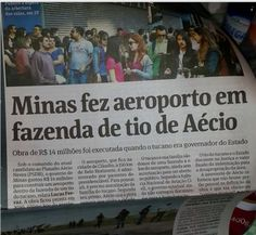 Aécio Neves, aeroporto, helicóptero, caso Lunus e o tal do jornalismo - Blog do Rovai Se o Aécio Neves fosse candidato do PT http://blogdoivanovitch.blogspot.com/2014/05/se-o-aecio-neves-fosse-candidato-do-pt.html?spref=tw