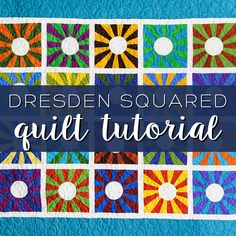dresden squared tutorial by Missouri Quilt Co. I so need to make this!