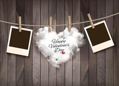 ベクトル,アイデア,文芸,板,木クリップ,雲,ハート型,愛情,ブライダル,バレンタインデー,背景,ロマンチック,夢幻,ブラウン