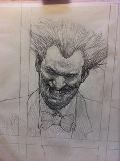 ArtStation - Commission on canvas: Joker, Riccardo Federici