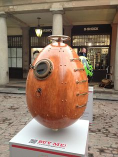 Steampunk Egg. Dont question why.