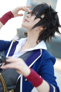 Saruhiko Fushimi (ryuichi randoll - WorldCosplay) | K Project #anime #cosplay