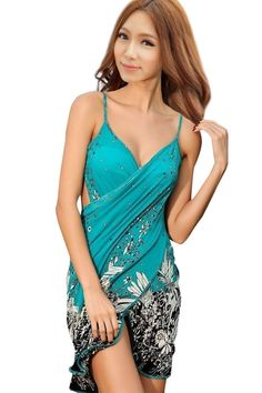 Beach Bikini Cover Up Holiday Beachwear Women Beach Dress Sexy Summer Green Chiffon Vestido Sarong Wrap Pareo Swimwear Material: Polyester, SILKFit: Fits true to size, take your normal sizePattern Type: Floral Size: one size Bust: Waist: Hip: Sexy Dresses, Beach Wear Dresses, Dress Beach, 2015 Dresses, Dresses Dresses, Summer Dresses, Floral Dresses, Club Dresses, Short Dresses