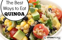 You Asked: What is Quinoa, and How Do I Eat It? via @SparkPeople