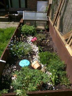 Outdoor tortoise enclosure                                                                                                                                                                                 More
