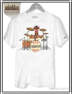 T-shirt Carranca Bateria