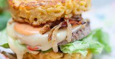 Hamburgers aux galettes de coquillettes