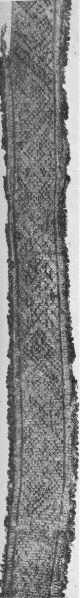 Band 17 from Grave No. 735 at Birka, in Sweden.  Viking Age.