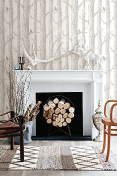 Image of Brewster Home Fashions WallPops Peel & Stick The Forest NuWallpaper
