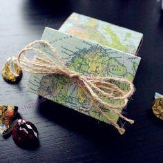em todo o mundo mapa caixa favor/w natural- fio  http://pt.aliexpress.com/store/product/60pcs-Black-Damask-Flourish-Turquoise-Tapestry-Favor-Boxes-BETER-TH013-http-shop72795737-taobao-com/926099_1226860165.html   #presentesdecasamento#Casamentos #presentesdopartido #lembranças #caixadedoces     #noiva #damasdehonra #presentenupcial