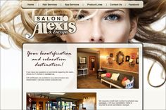 Salon Alexis  http://www.clouiscreative.com