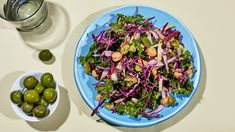 Kale, Chicory, and Chickpea Chopped Salad - MUNCHIES