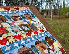 sampler row quilt.   who doesn't have enough orphan blocks for this?