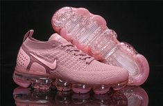 New Arrivel Nike Air VaporMax Flyknit 0 W Sakura Pink 942843 500 Womens Running Shoes Girls Summer Trainers - Schuhe - Nike Air Max, Nike Air Shoes, Pink Nike Shoes, Nike Footwear, New Nike Shoes, Running Shoes For Men, Running Women, Pink Running Shoes, Shoes Sport