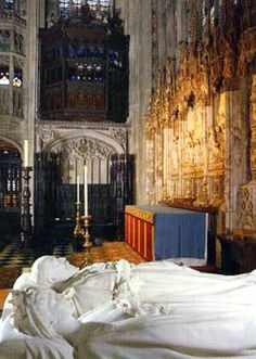 King Edward VII & Queen Alexandra in St George's Chapel, Windsor
