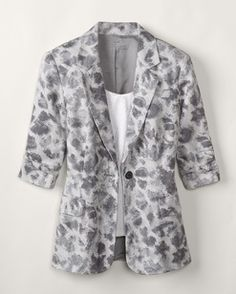 Love this jacket! Looks great with black dress pants