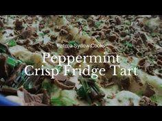 PEPPERMINT CRISP FRIDGE TART - YouTube Tart Recipes, Cooking Recipes, Peppermint Crisp Tart, My Cookbook, Sweet Tarts, Best Memories, Business Website, I Am Awesome, Stuffed Peppers