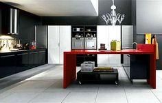 Espetáculo de cozinha! Super funcional e moderna