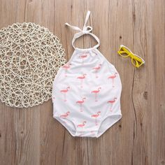 View our wide collection of cute newborn baby girl dresses including rompers, swim suites, night suites, jumpsuits & more. Buy clothes for your baby girl now! Baby Outfits, Kids Outfits, Baby Girl Fashion, Kids Fashion, Girls Clothing Stores, Sleeveless Outfit, Mother Daughter Outfits, Halter Bodysuit, Cute Baby Clothes