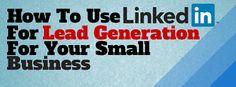 Social Media Manager @Tiffany Winbush shares tips on generating leads via LinkedIn. #SmallBiz #LinkedIn