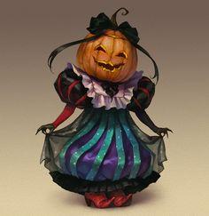 """Halloween Characters"" by Valeria Styajkina via Behance."