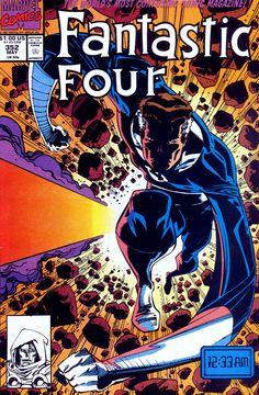 Fantastic Four #352 cover by Walt Simonson