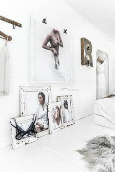 Ideas Bedroom Loft Photo Galleries For 2019 1930s House Interior, Interior Design, Bedroom Loft, Bedroom Decor, Wall Decor, Trendy Bedroom, My New Room, Interior Inspiration, Design Inspiration