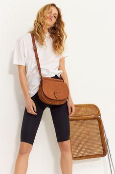 DECADENT SS19 Campaign. Brenna satchel bag in cognac Satchel Bag, Saddle Bags, Campaign, Ideas, Fashion, Moda, Fasion, Fashion Illustrations, Fashion Models