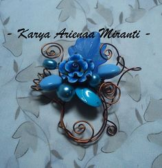 the blues brooch