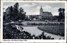 Pocztówka ze Sławna wysłana w 1943 roku