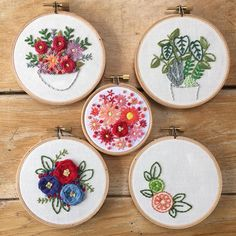 Here's a bunch of cute embroidery designs.