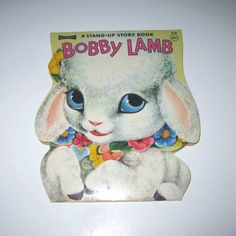 Vintage 1960s Children's Book Entitled Bobby Lamb - bought this with my holiday money whilst staying with relatives in Alston