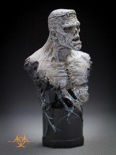 Zombiestein mini bust