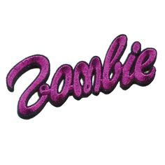 Zombie Barbie logo Embroidered Patch by Kreepsville PINK (Embroidered/Sewn Patches). Zombie Barbie Patch in Pink Kreepsville 666 zombie pink foil glitter embroidered iron on patch, size approx Daphne Blake, Girl Gang Aesthetic, Pink Aesthetic, Brown Aesthetic, Aesthetic Grunge, Pin And Patches, Iron On Patches, Diy Patches, Zombie Barbie