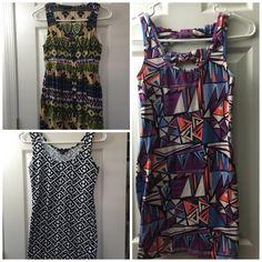 Dress Bundle for Sale 2 Bodycon Mini Dresses and 1 Mini Dress for sale all for $25!  All are in perfect condition  Forever 21 Dresses Mini