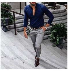 Mens Fashion Smart – The World of Mens Fashion Formal Men Outfit, Casual Wear For Men, Stylish Mens Outfits, Men Casual Styles, Stylish Man, Trajes Business Casual, Business Casual Outfits, Office Outfits, Gentleman Mode