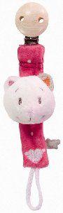 Noukies Attache Tetine Chat Celia chez Doudouplanet.com - 20452