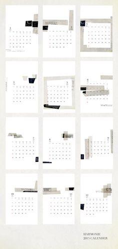 Beautiful calendar! - via vtwonen