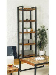 Small Urban Chic Bookcase http://www.bitcoinbazaar.co.uk/Urban-Chic-Open-Alcove-Bookcase #bitcoin #furniture #design