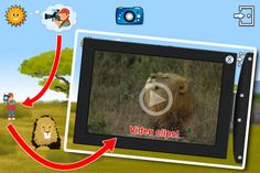 Touch the cameraman to discover video clips!