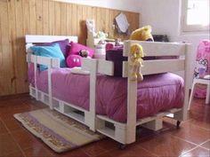 Pallet Bed.  #pallets