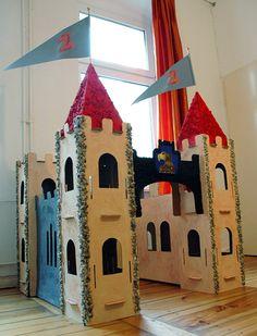 planos de castillos para carton - Buscar con Google