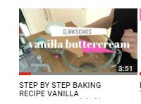 check out my youtube were you can learn baking tips and tricks!