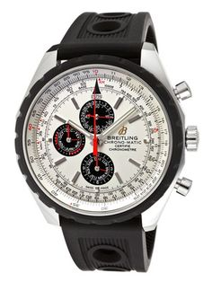 Breitling Automatic Chronograph Silver Dial Men's Watch